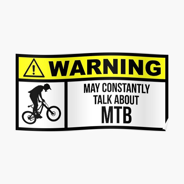 Mtb Quotes Posters Redbubble