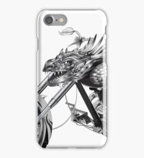 Dragon Rider Bike iPhone Case/Skin