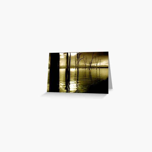 Lake Moogerah Mood Greeting Card