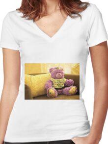Jasmine Women's Fitted V-Neck T-Shirt
