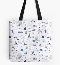 Animal Pattern Series – Feathered Friends Tote Bag