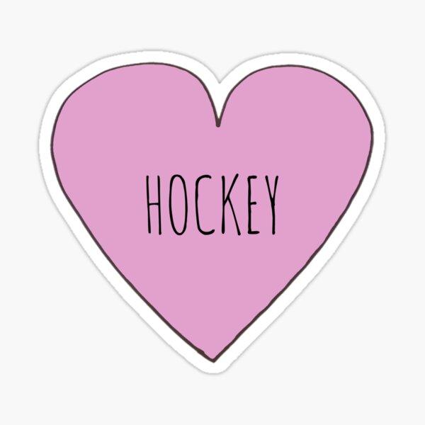 Hockey Love Sticker