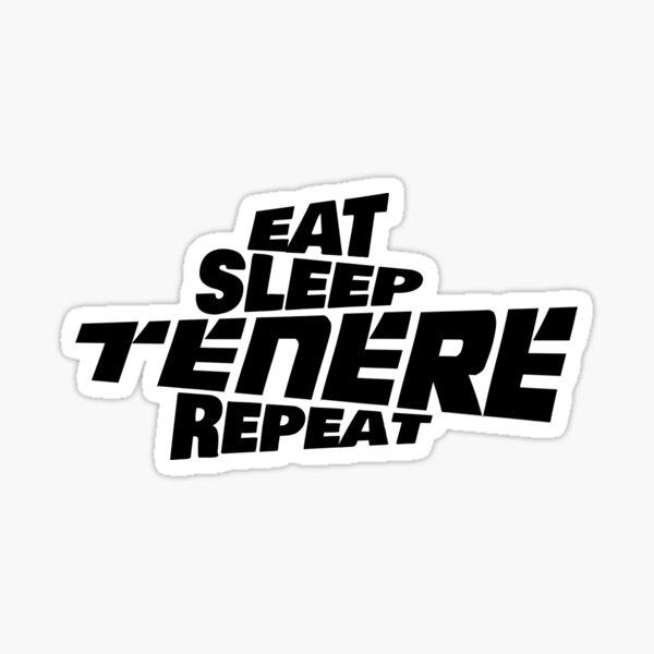 Yamaha Tenere 700 - Eat Sleep Tenere Repeat Sticker