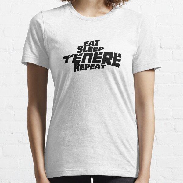 Yamaha Tenere 700 - Eat Sleep Tenere Repeat Essential T-Shirt