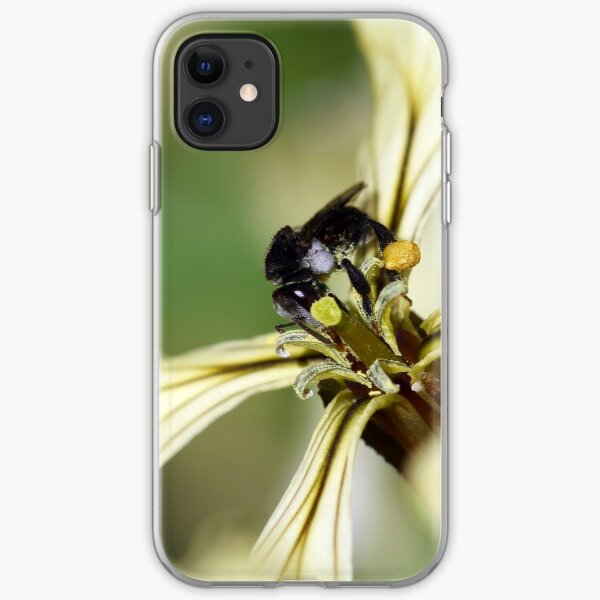 Tiny Sugarbag bee iPhone Soft Case