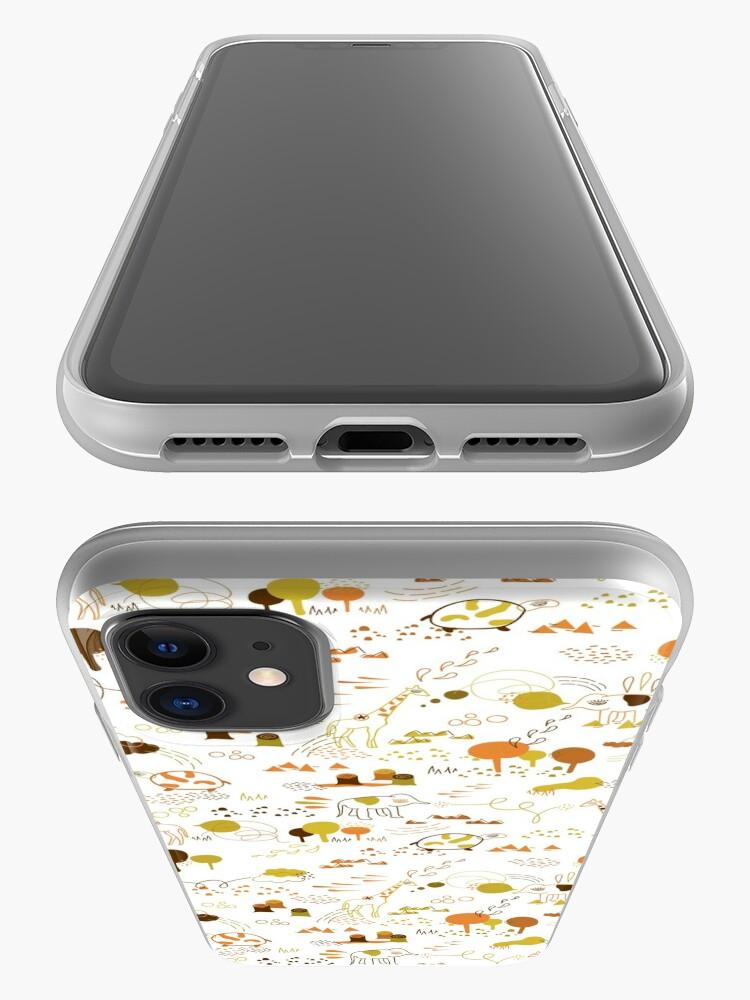 Alternate view of Animal Pattern Series – Safari Wildlife iPhone Case & Cover