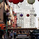 San Francisco Trolley- China Town by Caroline Pugh