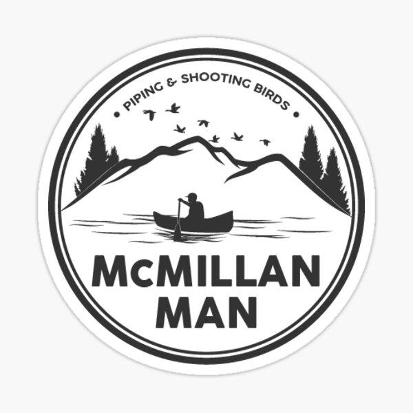 McMillan Man Logo Sticker