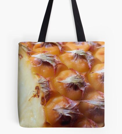 THE PINEAPPLE AS IN MACRO Tote Bag