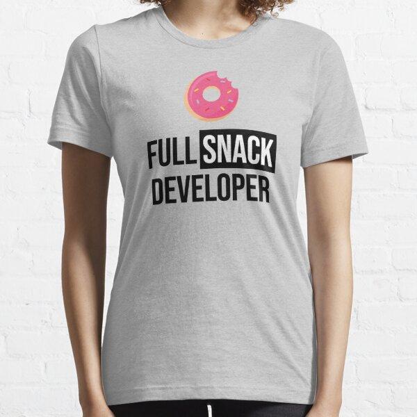 Full Stack Developer - Full Snack Developer Essential T-Shirt