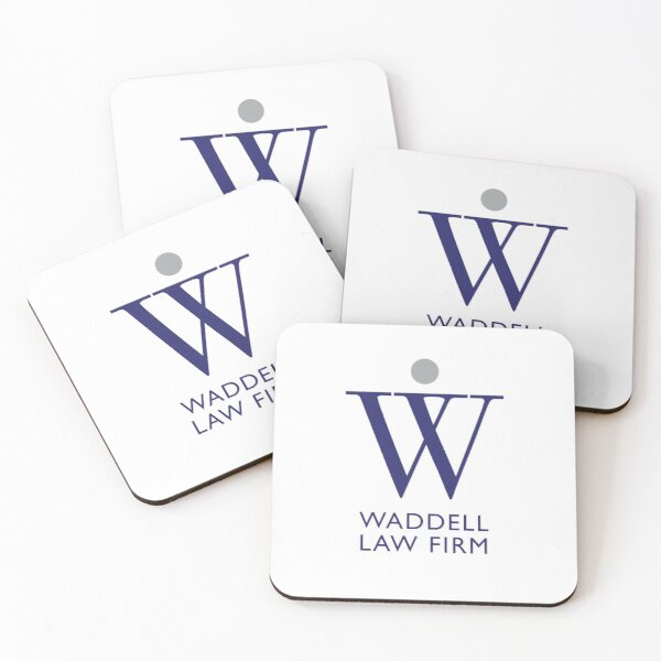Waddell Law Firm - C Coasters (Set of 4)