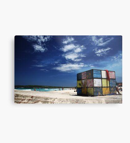 Rubiks Cube at Maroubra Metal Print