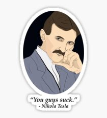 Tesla's SFW Feelings Sticker
