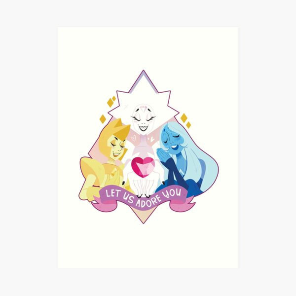 Steven Universe diamonds Art Print