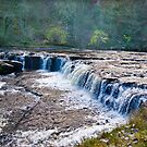 The Upper Falls - Aysgarth. by Trevor Kersley