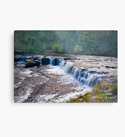 The Upper Falls - Aysgarth. Metal Print