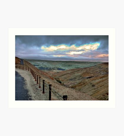 Swaledale from Buttertubs Pass Art Print
