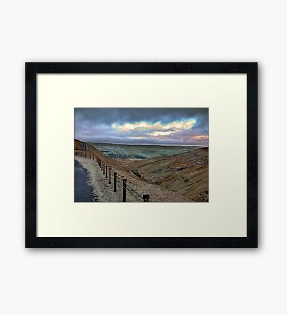 Swaledale from Buttertubs Pass Framed Print