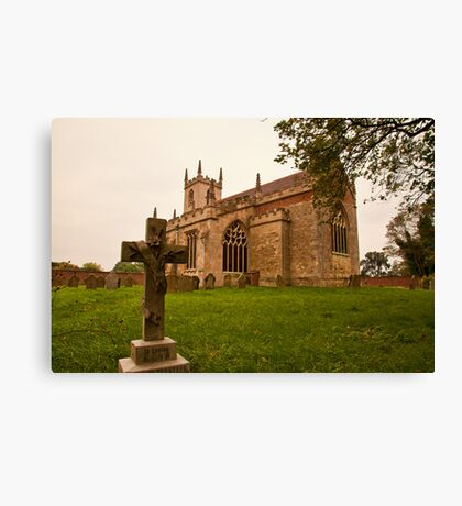 St. Peters Church Doddington Lincs Canvas Print