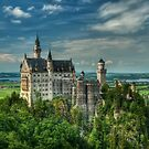 Neuschwanstein castle by JHRphotoART