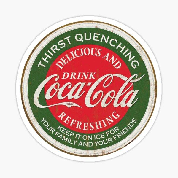 refrescante coca-cola Pegatina