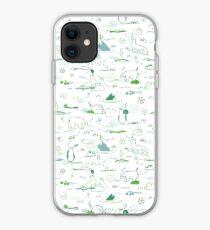 Animal Pattern Series – Arctic Creatures iPhone Case