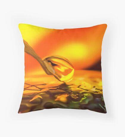 Liquid Soul Affair Throw Pillow