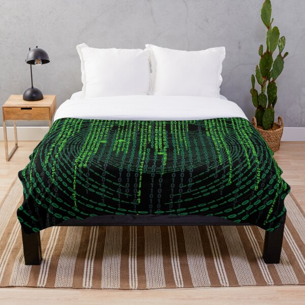 Caught In The Matrix Throw Blanket