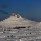 Stac Polly Snow by Alexander Mcrobbie-Munro
