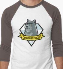 Diamond Doge Baseball ¾ Sleeve T-Shirt