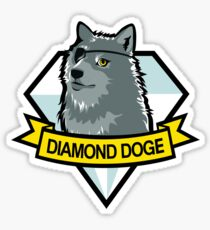 Diamond Doge Sticker