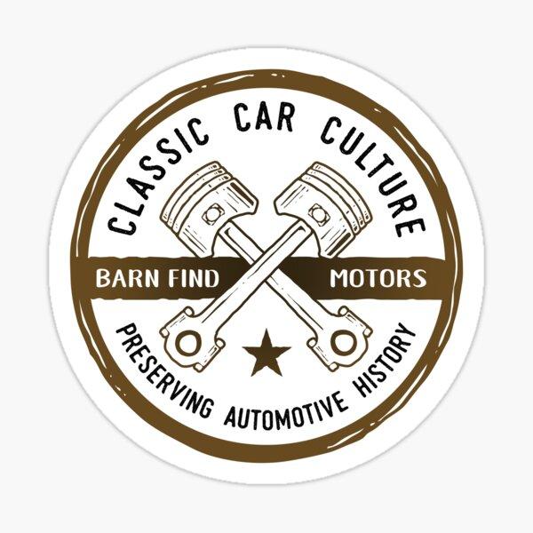 Classic Car Culture - Preserving Automotive History Sticker
