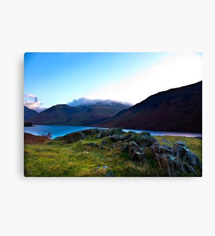 Scafell Pike - Across WastWater Canvas Print