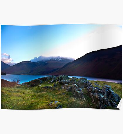 Scafell Pike - Across WastWater Poster