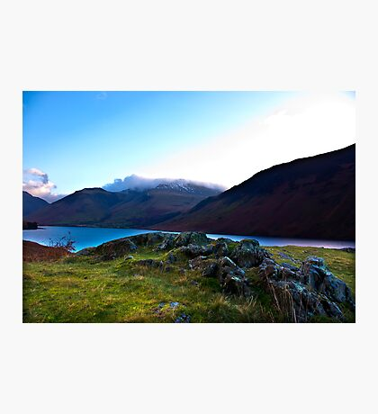 Scafell Pike - Across WastWater Photographic Print
