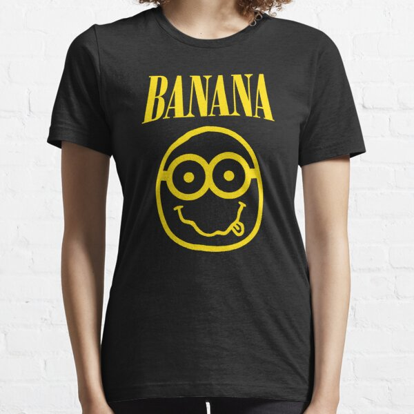 Nirvana Banana Logo Essential T-Shirt