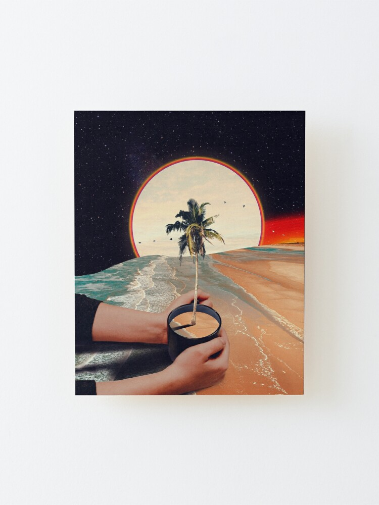Alternate view of A Cup Of Sunshine Mounted Print
