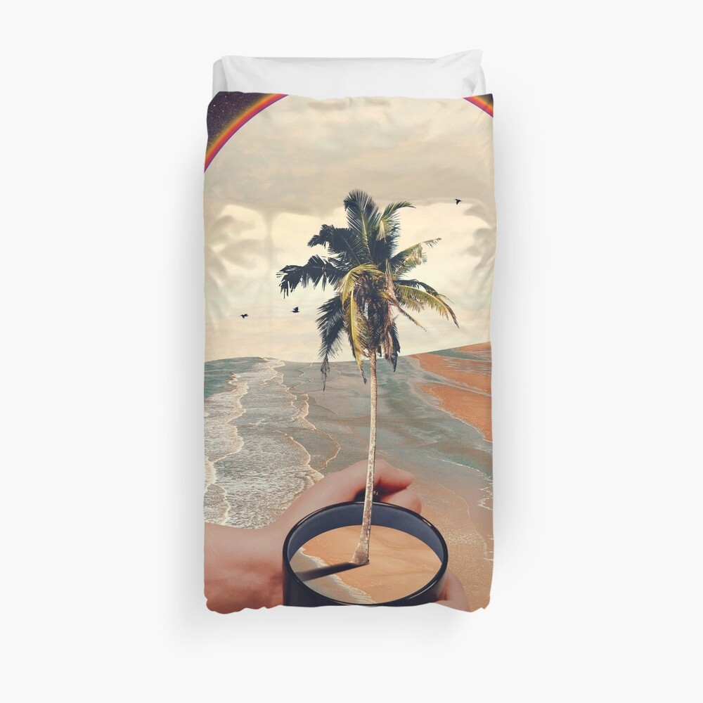 A Cup Of Sunshine Duvet Cover