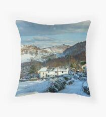 Brow Edge,Backbarrow Throw Pillow