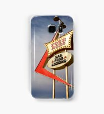 Four Aces motel Samsung Galaxy Case/Skin