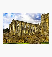 Rievaulx Abbey - North Yorkshire. Photographic Print