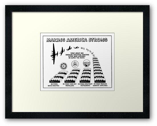 Airplane Supply Cartoon -- World War II by warishellstore