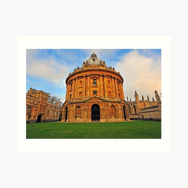 Oxford Bodleian Library Art Print