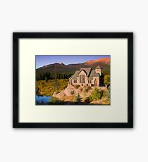 The Autumn Chapel Framed Print