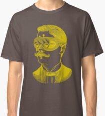Vintage man in goggles Classic T-Shirt