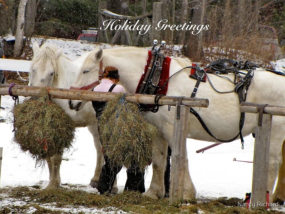 """""""Fill er up!"""" by Nancy Richard"""
