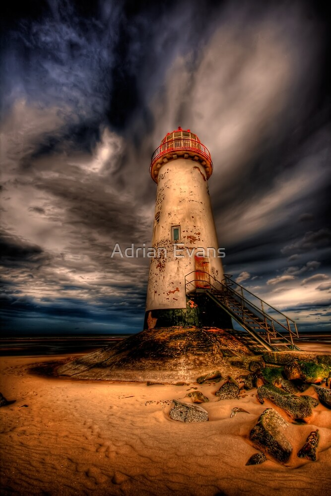 Abandoned Lighthouse by Adrian Evans