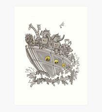 Robot Ark Art Print