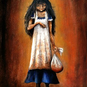 Girl with Sack by lenastahl