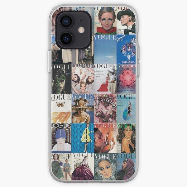 motif de collage Coque souple iPhone